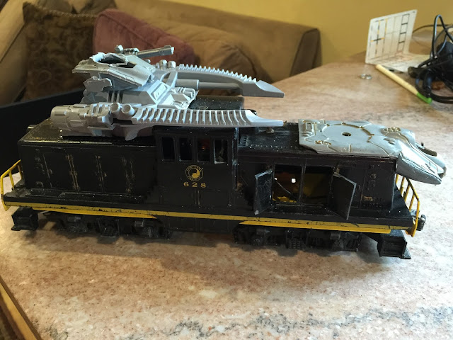 Ork Train; Ork Looted Wagon; Warhammer Train; Warhammer 40K Train