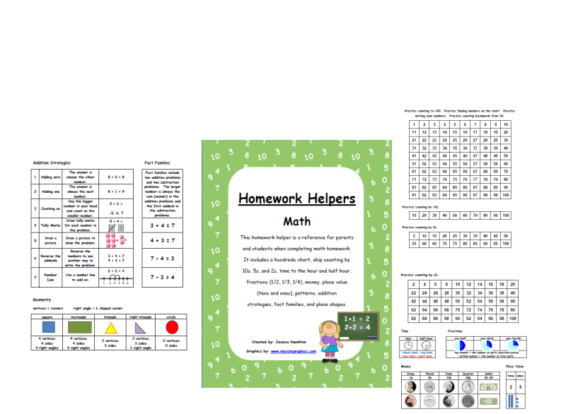Math sheets for fourth grade