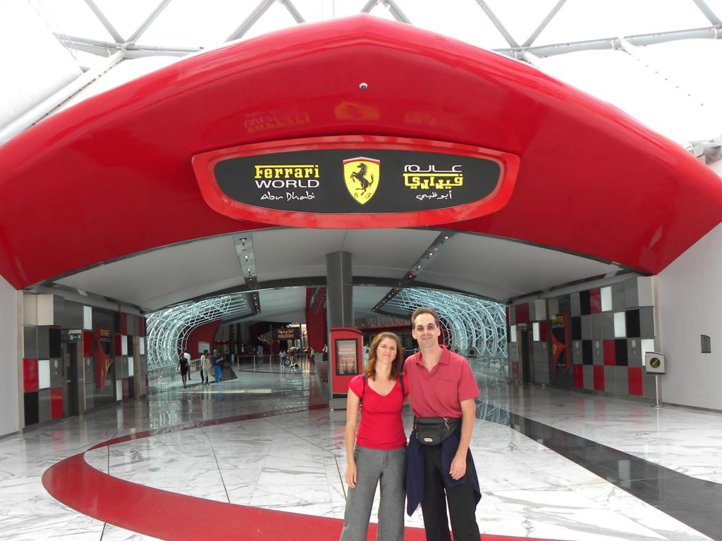 Travels - Ballroom Dancing - Amut Parks: Ferrari World in Abu ...