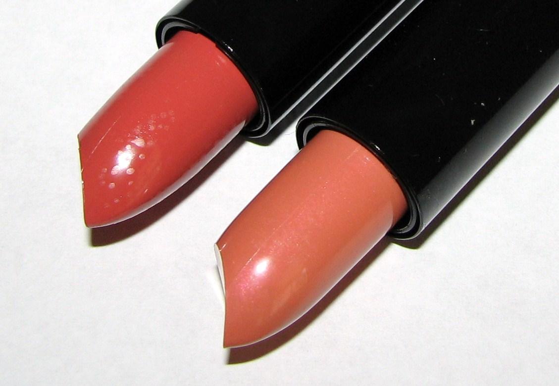 NYX Pumpkin Pie and Heredes Round Lipstick Swatches ...
