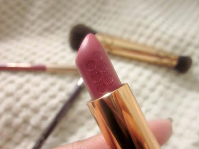 kiko rebel romantic lipstick lusty peony