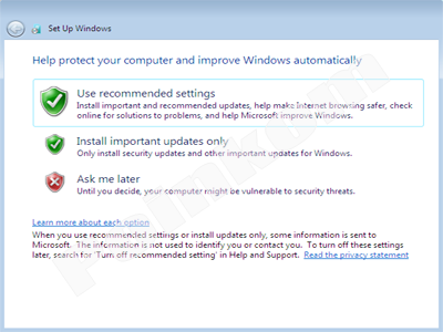 Setup Update Windows 7