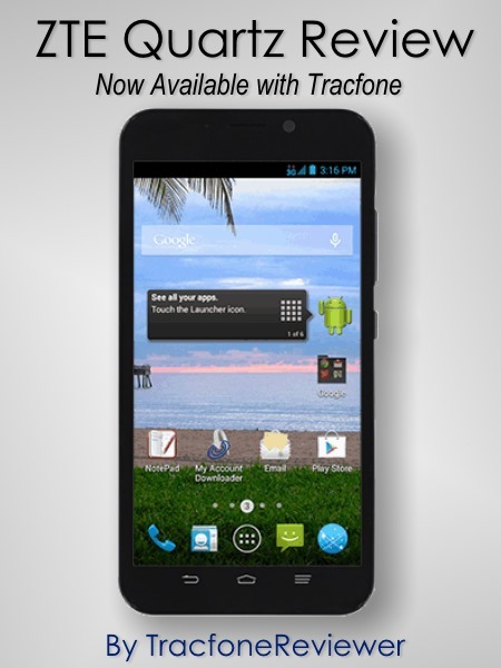 many zte quartz phone tracfone tried uninstall and