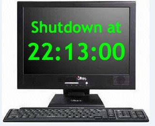 How to schedule your computer to shutdown at specific time