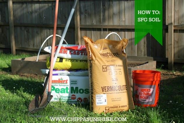 How To Square Foot Gardening Soil ChippaSunshine