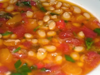 Traditional Greek Bean Soup - Fasolada - Recipe