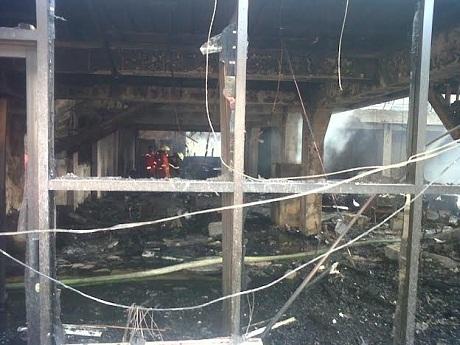 Kantor Redaksi Pikiran Rakyat Bandung Ludes Terbakar