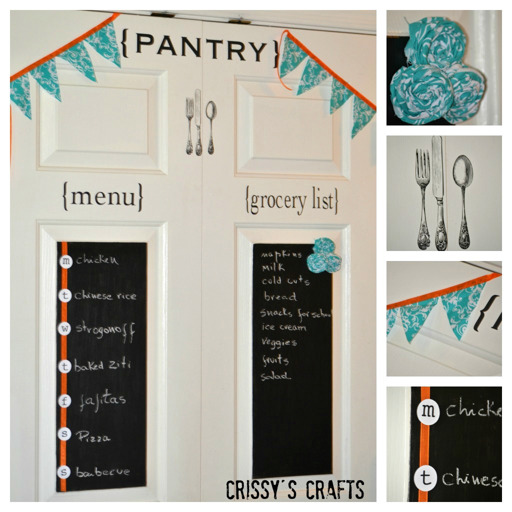 Attirant Pantry Door Makeover