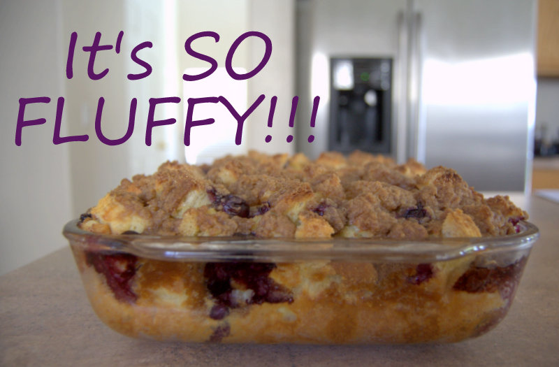 Baked blueberry french toast blueberry french toast bake ccuart Gallery