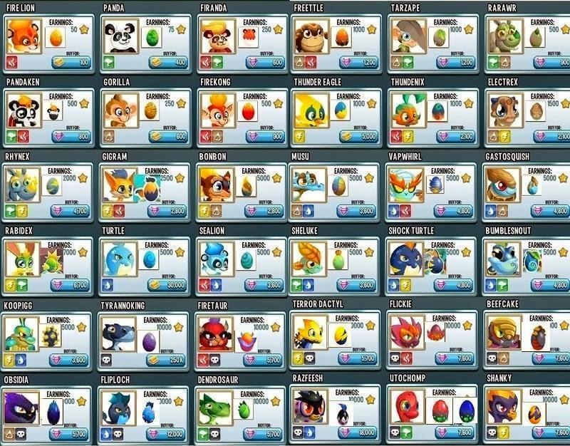t7vo Monster Legends Yumurtaları Nelerdir   Facebook Oyunları
