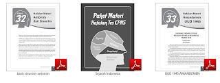 Kumpulan Materi CPNS , Silahkan Download Disini!