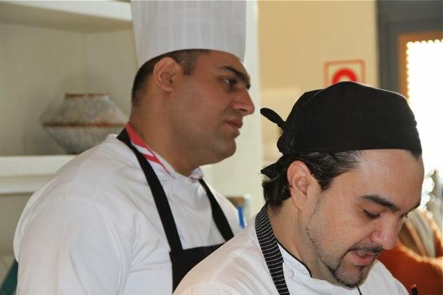Chefs del Restaurante du Liban de Madrid. Blog Esteban Capdevila