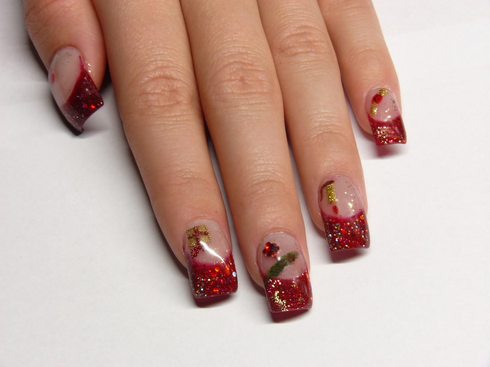 Christmas Nail Art Designs -12