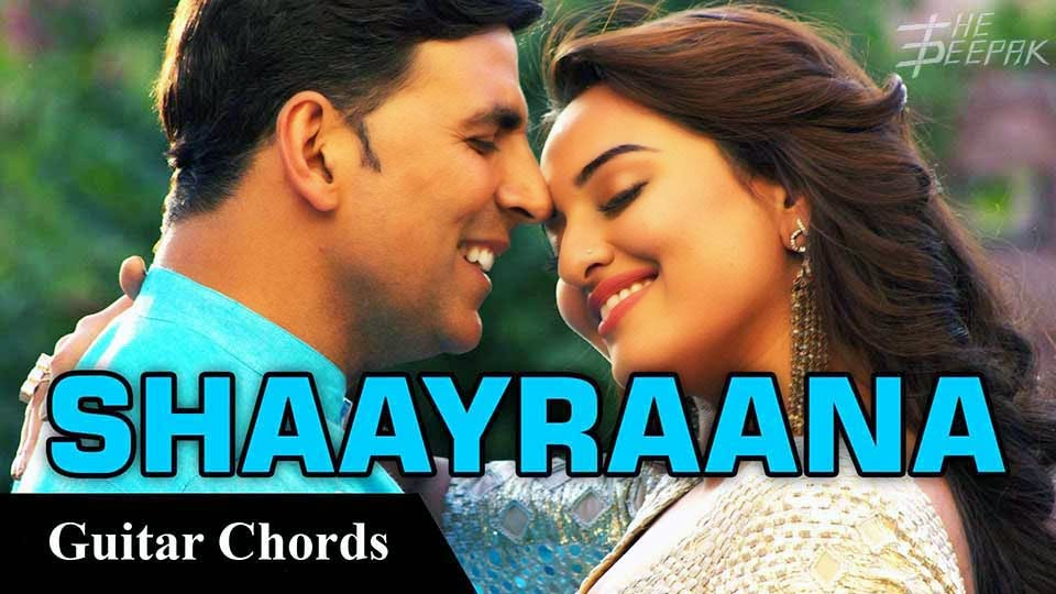 Aaj Dil Shayrana - Song Lyrics by Irshad Kamil from Movie - Holiday A Soldier Is Never Off Duty