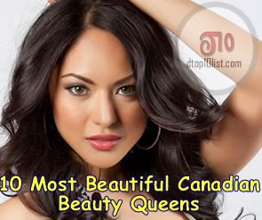 Top 10 Most Beautiful Canadian Beauty Queens