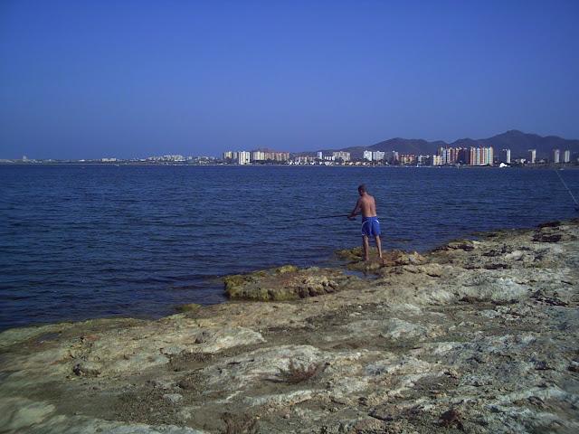 Paco de Murcia en la loma de Mar de Cristal