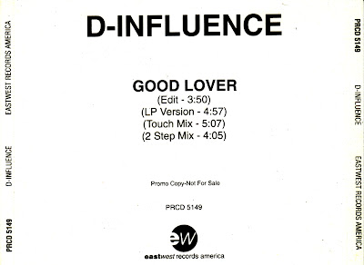 D-Influence - Good Lover-(Promo_CDS)-1993