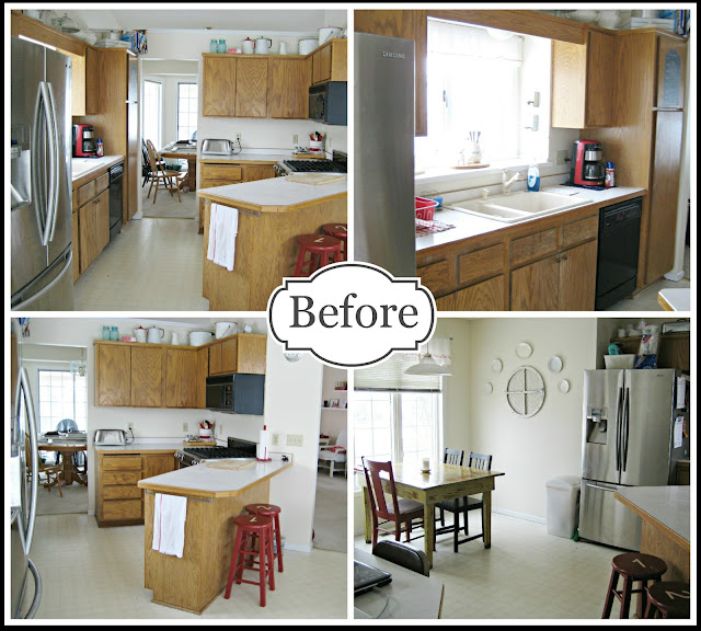 Happy At Home Completed Kitchen Makeover