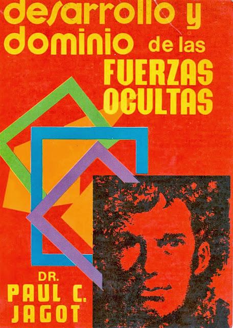 """Portada de la edición de 1980 del """"Desarrollo y Dominio de las Fuerzas Ocultas"""" de Paul C. Jagot"""