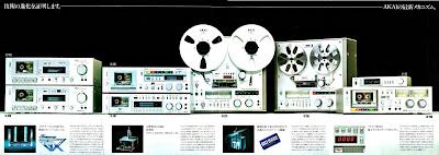 AKAI recorders 1980