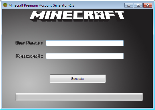Minecraft account generator no surveys or passwords mac 2013 mediafire