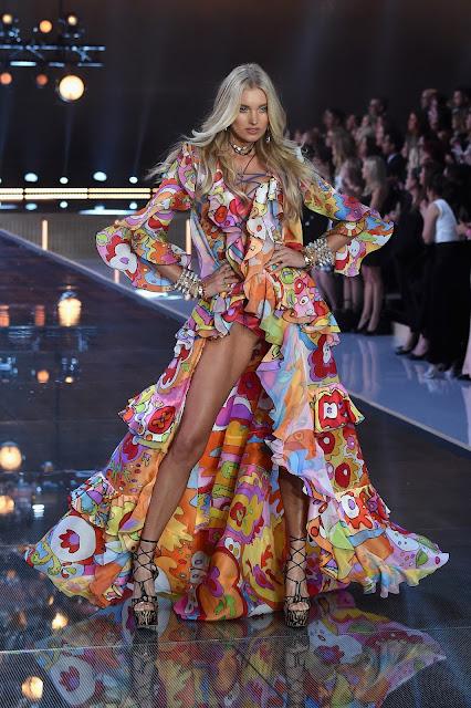 Fashion Model @ Elsa Hosk - Victoria's Secret Fashion Show in New York