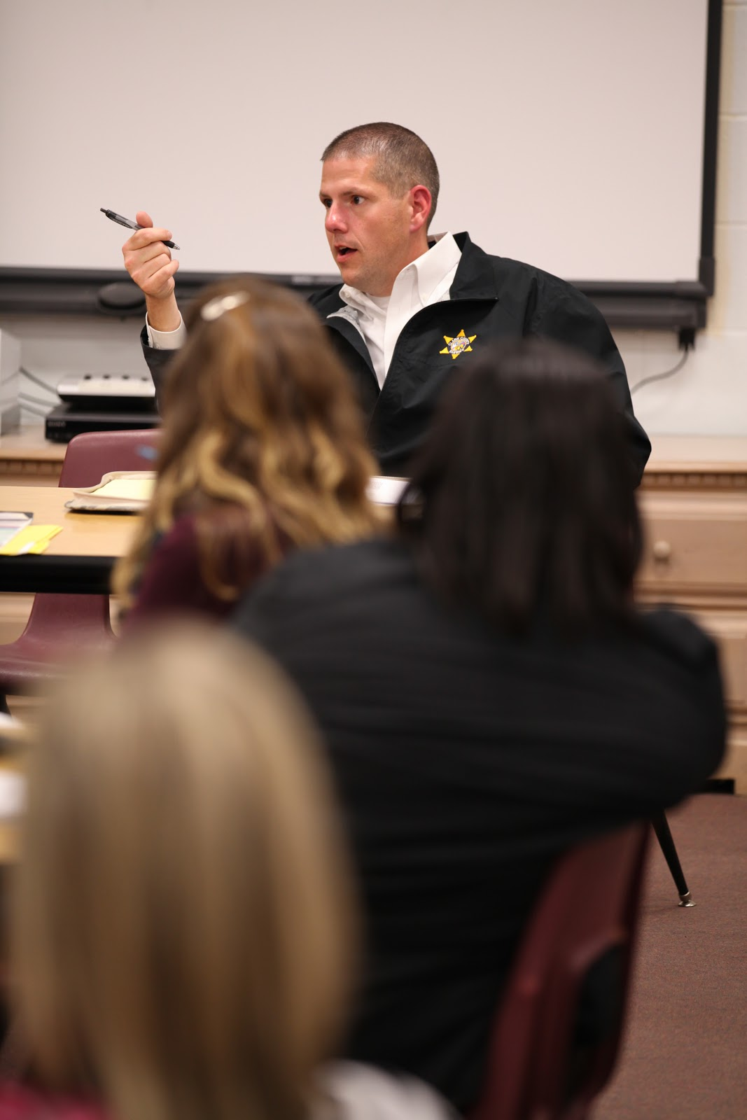 Sherriff, Chief address campus safety