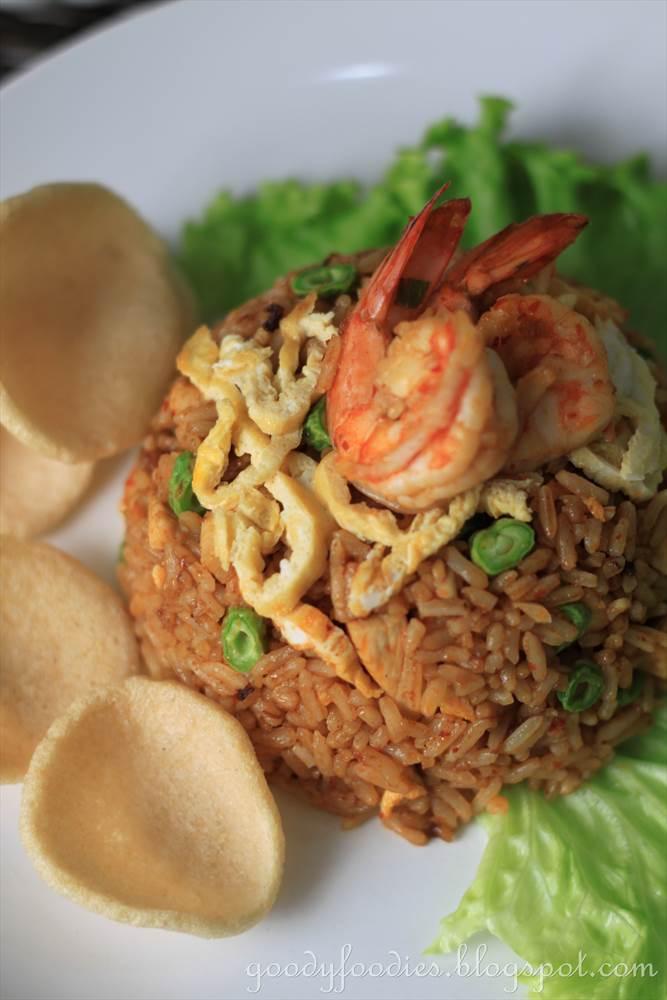 GoodyFoodies: Recipe: Nasi Goreng Indonesia (Indonesian ...