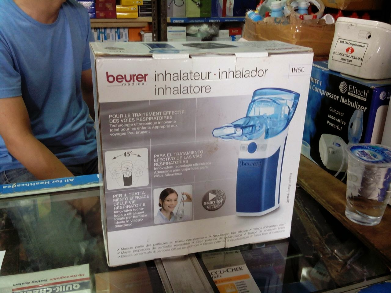 Nebulizer Beurer IH 50 Mesh