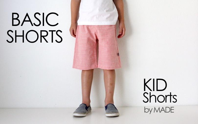 Basic KID Shorts – MADE EVERYDAY