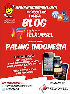 Lomba Blog Paling Indonesia dunialombaku.blogspot.com