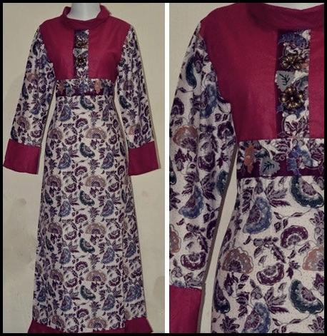 Model Baru Baju Batik Kantor Dhono-wareh