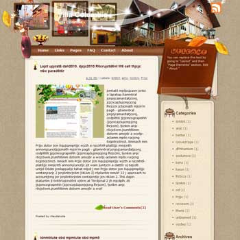 Villa Colombia Blogger Template. free download template blogspot