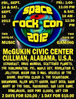 Space rock con