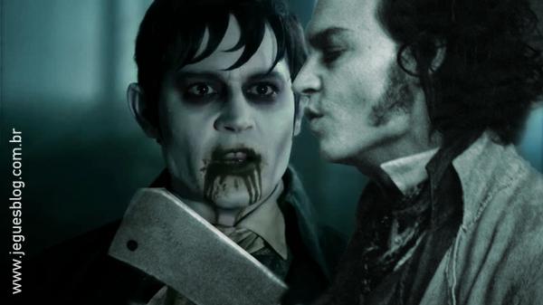 Barnabas Colins (Sombras da Noite) e Sweeney Todd (O Barbeiro Demoníaco da Rua Fleet)
