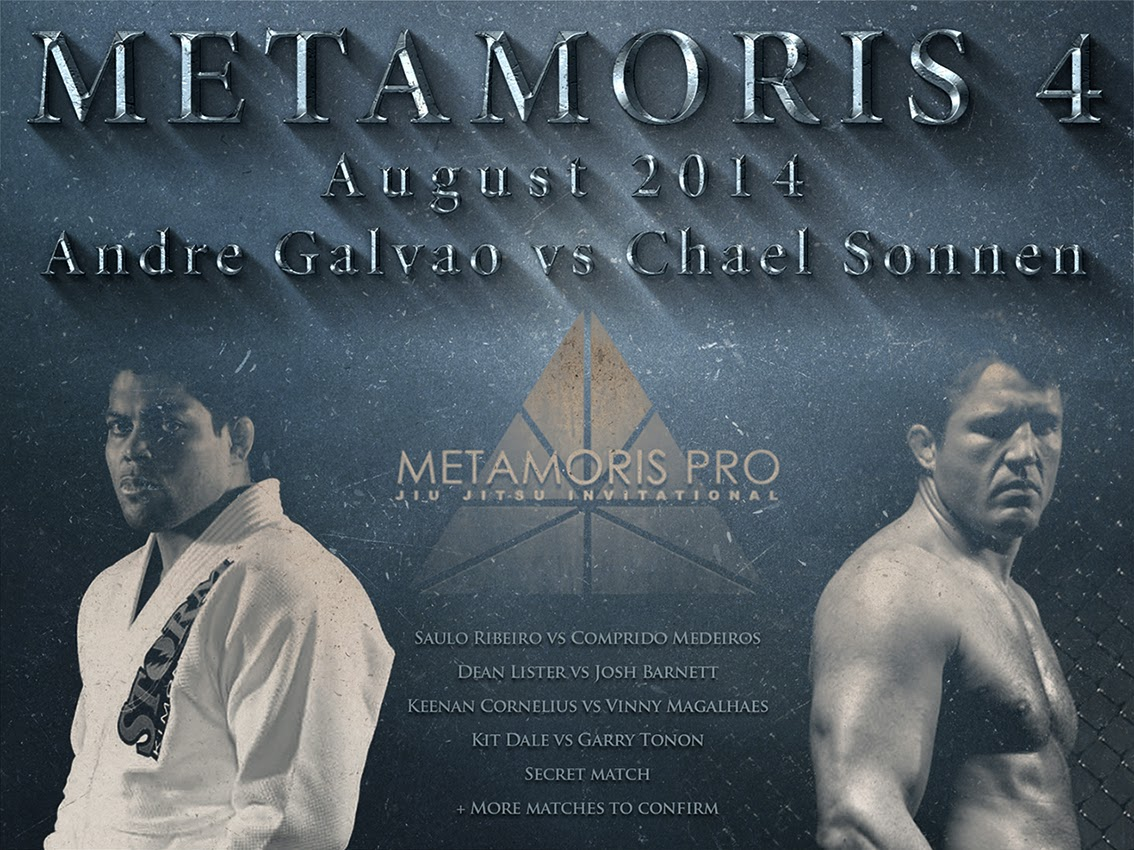 Metamoris 3 Fight Card and Preview Video