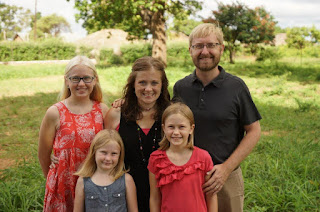 Alan, Rachel, Abby, Ellie, and Katie Joy