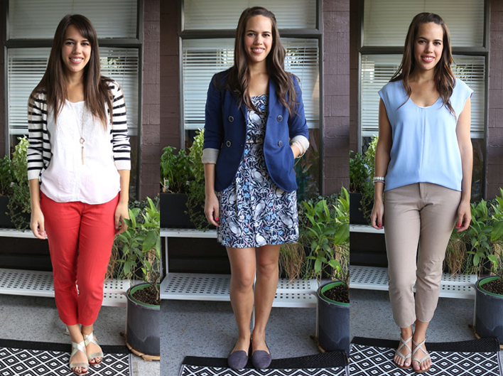 jules in flats: personal style blog - business casual workwear on a budget (What I Wore: August 2015)