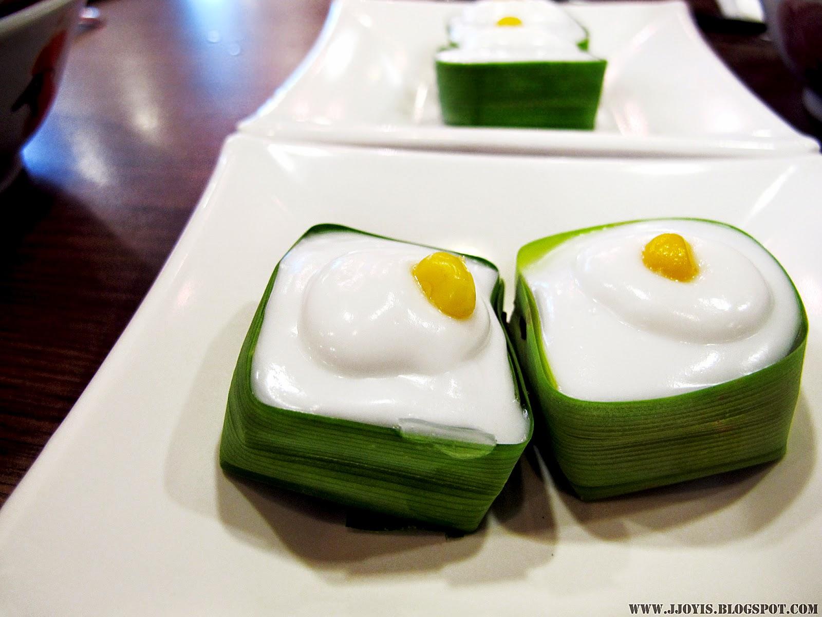 thai boat noodle thai pandan jelly