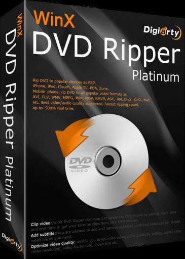 WinX DVD Ripper Platinum 7.5.10.140 Build 22.10.2014