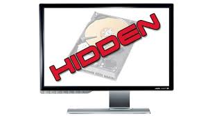 Hidden drives without any software