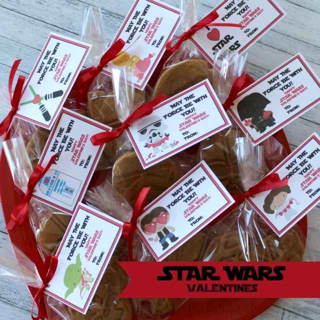 May The Fourth Be With You Wedding Favors: The Partiologist: Valentine Star Wars Cookies & Free