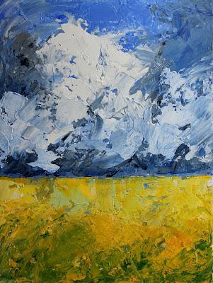 Martin Hoogeboom, art, Laren, painting, landscape,