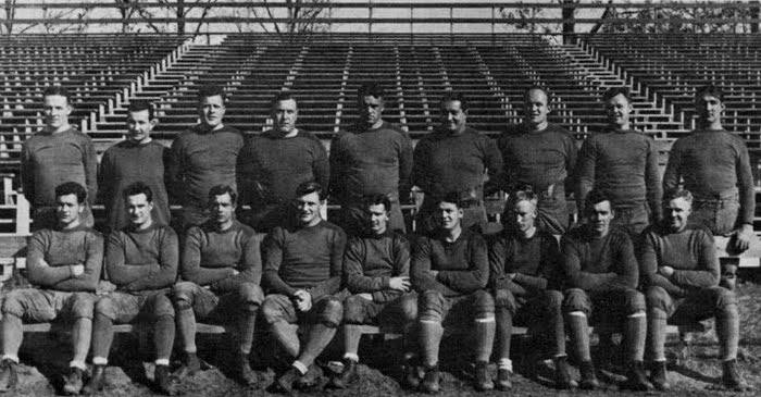 The Wearing Of The Green And Gold 1926 Team Blanket