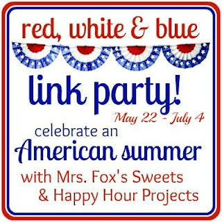 red, white & blue link party
