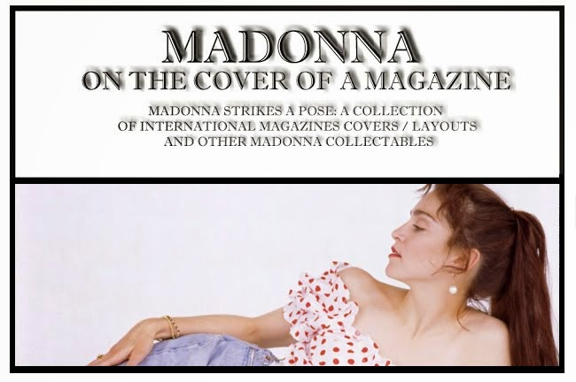 Madonna : On The Cover Of A Magazine OTCOAM rare madonna photos