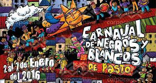 programación oficial del carnaval de negros y blancos 2016