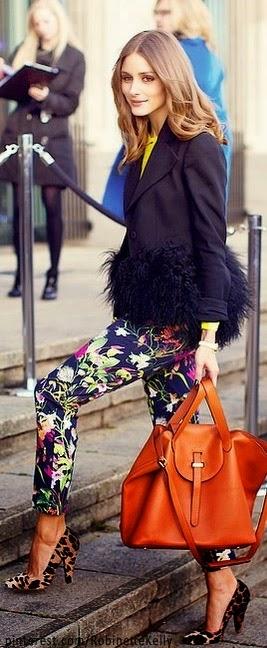 Tendência  moda sapatos a combinar com carteira