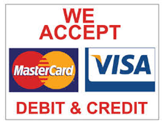 We Accept All Cards