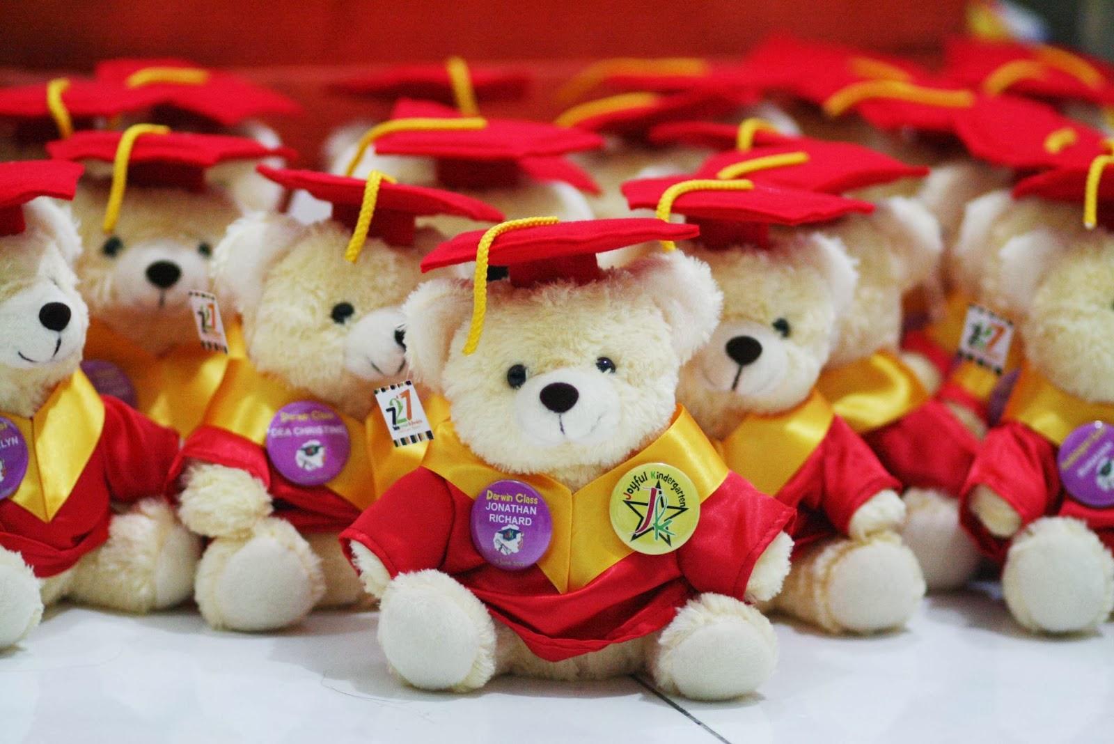 KABOWI BEBE ( Teddy Bear Graduation / Boneka Wisuda Beruang )